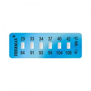 Thermax 6 Level Mini Strips - Irreversible Temperature Sensitive Products