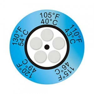 Thermax Clock Indicators - Irreversible Temperature Sensitive Products