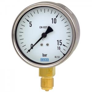 Type 212.20 - Bourdon tube pressure gauge   Industrial series