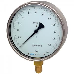 Type 312.20 - Bourdon tube pressure gauge  Test gauge series, class 0.6