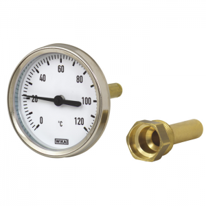 Type 46 - Bimetal thermometer   For industrial heating