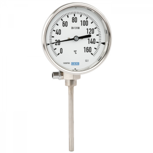 Type 54_twintemp - Bimetal thermometer with Pt100 electrical output signal  stainless steel version