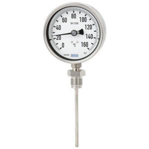 Type 55 - Bimetal thermometer   Stainless steel version