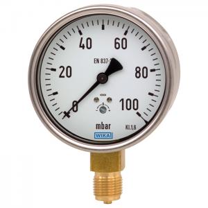 Type 612.20 - Capsule pressure gauge  Industrial series