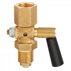 Type 910.10 - Pressure gauge cock  Brass, steel or stainless steel