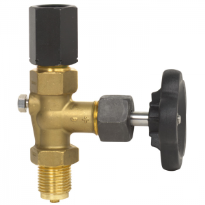 Type 910.11 - Pressure gauge valve  brass, steel or stainless steel