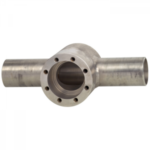 Types 910.19, 910.20, 910.23 - Accessories for diaphragm seals  Block flange adapter for plain pipes or saddle flange or block flange adapter for jacketed pipes