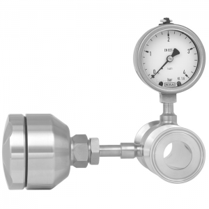 Type 983 - Sterile Process Connection, Diaphragm In-line Seal  With Integrated Temperature Measurement