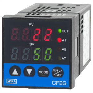 Type CF2S - Temperature Controller  PID controller, with Fuzzy Logic, self optimizing, also with serial communication