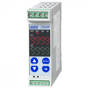 Type CS4R - Temperature Controller for Rail Mounting  PID Controller, Dimensions 75 x 22.5 mm