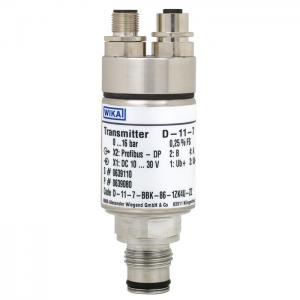 Types D-10-7, D-11-7 - Pressure transmitter with Profibus® DP interface  Standard version or flush diaphragm