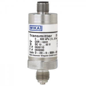 Types D-20-9, D-21-9 - Pressure transmitter with CANopen® interface  Accuracy 0.3 %, 0.5 % or 1 %, standard version or flush diaphragm