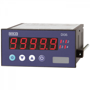 Type DI35 - High-quality digital indicator for panel mounting  with multi-function input or with two inputs for standard signals