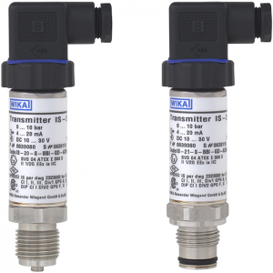 Types IS-20-F, IS-20-S, IS-21-F, IS-21-S - Intrinsically safe pressure transmitter   For applications in hazardous areas