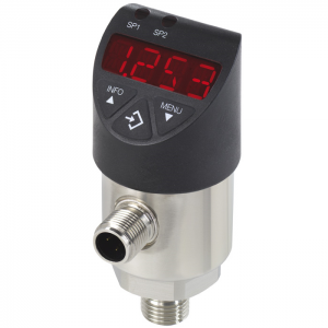 Types PSD-30, PSD-31 - Electronic pressure switch  With display, standard version or with flush diaphragm