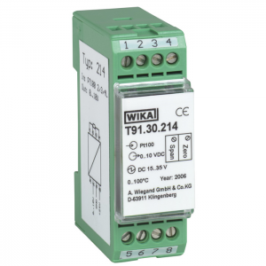 Type T91.30 - Analogue Temperature Transmitters  Fixed Measuring Range, Rail Mounting