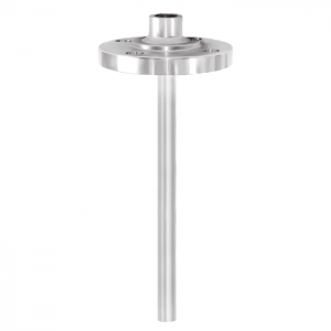 Types TW10-B, TW10-S - Thermowell with threaded flange (solid-machined)  Screwed and welded design