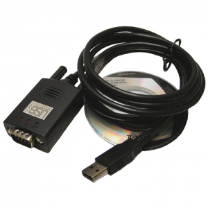 Type USB Adapter - Adapter Cable USB to RS-232, Serial, 9-Pin