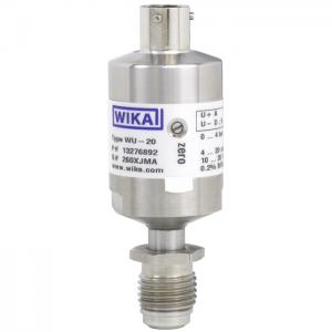 Types WU-20, WU-25, WU-26 - Ultra High Purity Transducer, Ex nA Nl