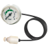 Types 101.00, 101.12 - Bourdon tube pressure gauge, with plastic capillary  Nominal size 40 or nominal size 27