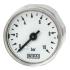 Type 111.12.27 - Miniature Bourdon tube pressure gauge  Back mount, standard version
