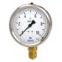 Type 213.53 - Bourdon tube pressure gauge  Liquid filling, stainless steel case