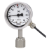 Type 230.15-851 - Bourdon tube pressure gauge with switch contacts  UHP, stainless steel version, with reed contact