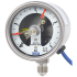 Type PGS23.063 - Bourdon tube pressure gauge with switch contacts  Stainless steel safety version