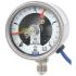 Type PGS23.063 - Manomètre à tube manomètrique avec contacts électriques  Acier inox, exécution de sécurité