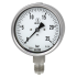 Types 232.30, 233.30 - Bourdon tube pressure gauge  Stainless steel, safety version