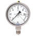 Types 232.36, 233.36 - Bourdon tube pressure gauge  Stainless steel, safety version, high overpressure safety