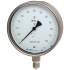 Types 332.30, 333.30 - Bourdon Tube Pressure Gauges without or with Liquid Filling  Test Gauge Series, Safety Pattern Version, Class 0.6
