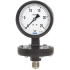 Types 422.12, 423.12 - Diaphragm pressure gauge Industrial series, grey cast iron