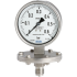 Types 432.50, 433.50 - Diaphragm pressure gauge  Stainless steel version