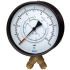 Type 711.11 - Differential Pressure Gauges  With Bourdon Tube Element, Vee Entry