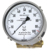 Types 712.15.160, 732.15.160 - Differential pressure gauge  Cu-alloy or stainless steel version