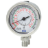 Types 732.18, 733.18 - Differential pressure gauge with Bourdon tube  parallel entry or measuring system stainless steel