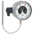 Type 73-8xx - Gas-actuated thermometer with switch contacts  Stainless steel version