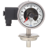 Type 74-8xx - Gas-actuated thermometer with switch contacts  For sanitary applications, stainless steel version