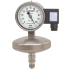 Types APGT43.100, APGT43.160 - Absolute pressure gauge with electrical output signal  Stainless steel, safety version