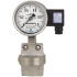 Types DPGT43.100, DPGT43.160 - Differential pressure gauge with electrical output signal  Stainless steel, safety version