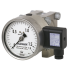 Types DPGT43HP.100, DPGT43HP.160 - Differential pressure gauge with electrical output signal  Universal version, high overpressure safety