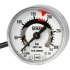 Type PGS11.040 - Bourdon tube pressure gauge with one or two switch contacts  Stainless steel case