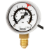 Type PGS11 - Bourdon tube pressure gauge with switch contact  Stainless steel case, with VdS approval