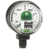 Type PGT01 - Bourdon tube pressure gauge with electrical output signal  Standard version, plug outlet