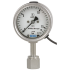 Type PGT23.063UHP - Bourdon tube pressure gauge with electrical output signal  Stainless steel, safety version, for ultrapure gas applications