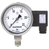 Types PGT23.100, PGT23.160 - Bourdon tube pressure gauge with electrical output signal  Stainless steel, safety version