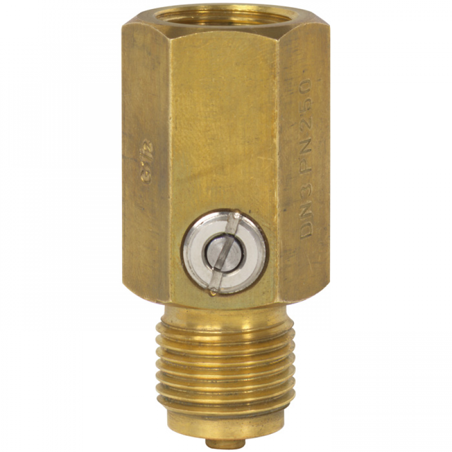 Pressure Measuring Instruments : Type snubber for pressure measuring instruments